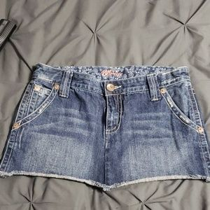Billabong Mini Jean Skirt